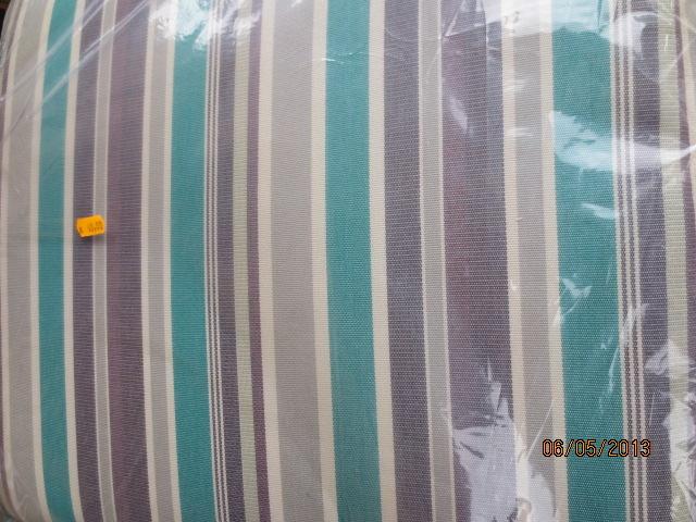 Vendita Cuscini Per Dondolo.Cuscino Per Dondolo 3 Posti 96x160 Cm Papillon Poly 250 Gr Double Face Con Volant