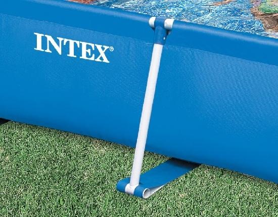 Piscina fuoriterra Intex 58980 Frame rettangolare 260x160xh65cm capacità 2280lt 58980