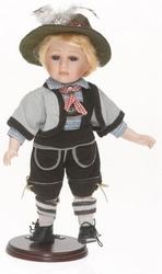 Bambola da Collezione Bavarese in Porcellana RF Collection qualità Made in Germany 119992 c151