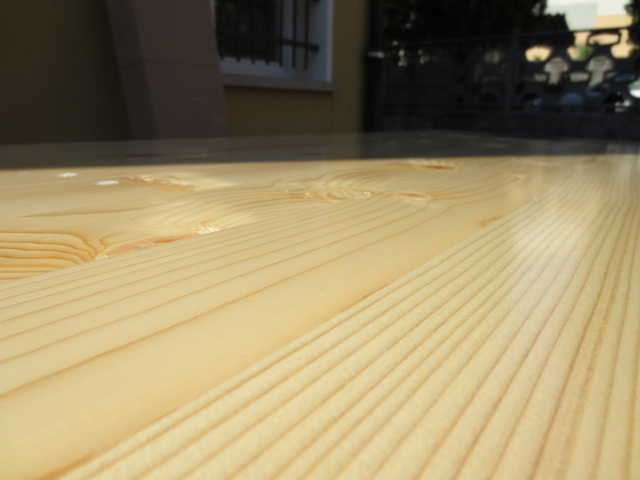 Set birreria MADE IN ITALY ABETE sagre resistente e pesante 2 panche tavolo cm 220x80x76 h con panche