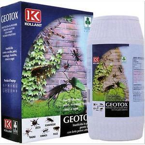 Geotox Insetticida in polvere scarafaggi formiche Pulce Cimice  Kollant