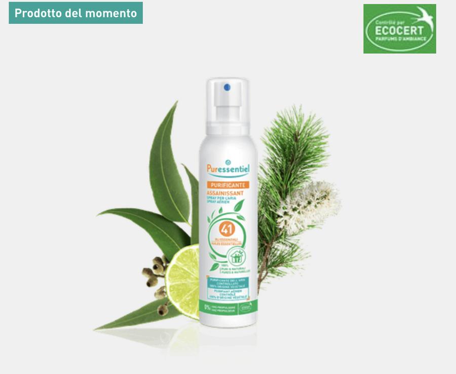 Spray ambiente bio 41 oli essenziali