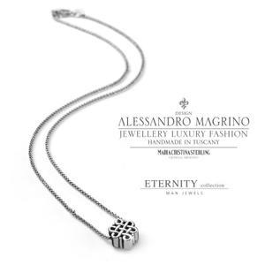 Collana argento Eternity