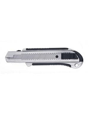 Cutter Professionale  in metallo - taglierino Forbest 25mm con 2 lame di ricambio