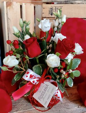 Flower Box Rosso