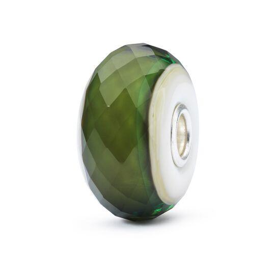 Vetro Trollbeads Verde Speranza
