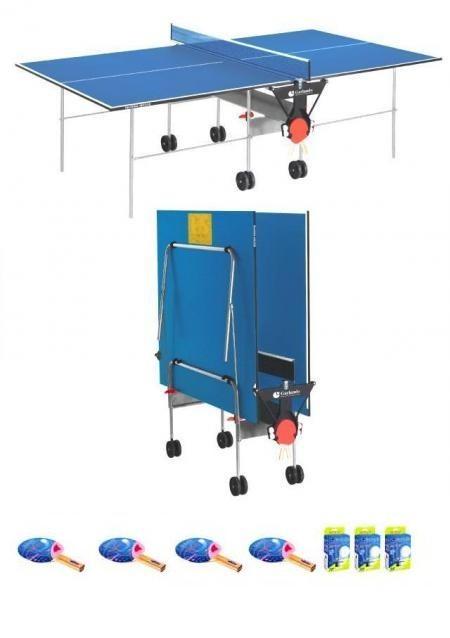 Garlando training indoor blu tavolo ping pong 4 - Tavolo da ping pong amazon ...