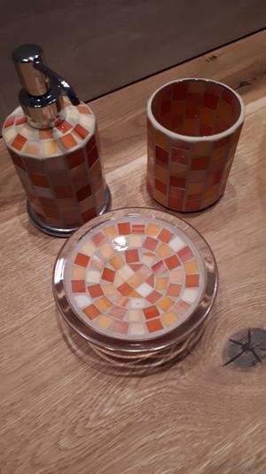 Set di accessori da bagno 3 pezzi