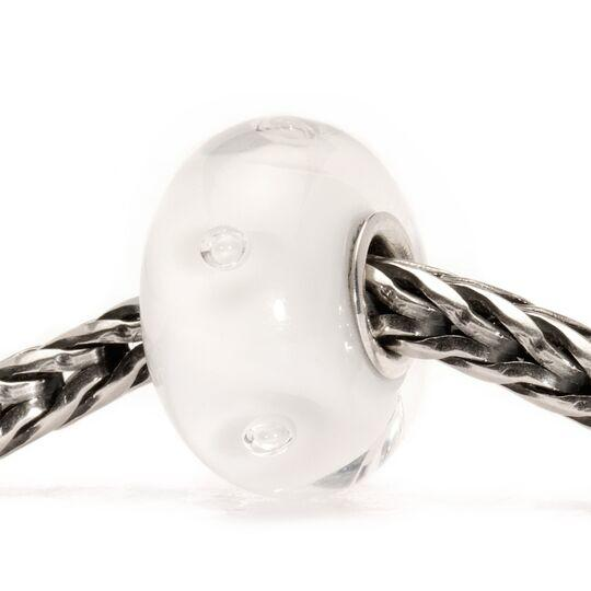 Vetro Trollbeads Bolle Bianche
