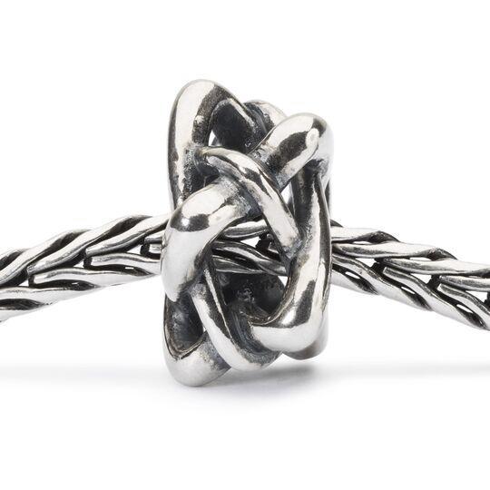 argento Trollbeads Intreccio di Stella