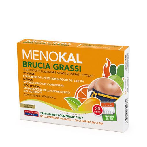 Farmaderbe - Menokal Dren Brucia grassi 30+30cpr