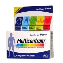 MULTICENTRUM UOMO 30 COMPRESSE