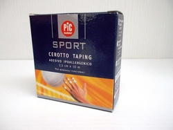 PIC SPORT CEROTTO TAPING 2,5x10