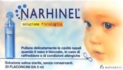 NARHINEL SOLUZIONE FISIOLOGICA Monodose