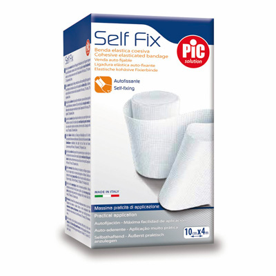 PIC SELF FIX Benda Elastica Coesiva 6 cm x 4 m