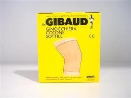 GIBAUD Ginocchiera Cotone Sottile