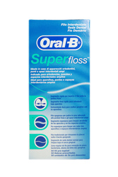 ORAL-B Filo Interdentale Superfloss