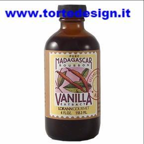 Estratto vaniglia puro del madagascar - 118 ml - LorAnn