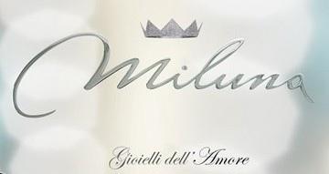 Lid2298 D19 Anello Miluna Solitario con Diamante