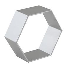 Coppapasta forma esagono acciaio cm 5,5