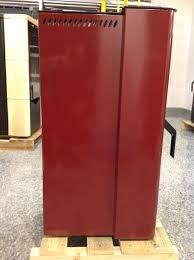 Stufa a Pellet Nordica Extraflame DORINA Rivestimento in Acciaio Potenza Termica 6.2 KW Colore Bordeaux SOTTOCOSTO