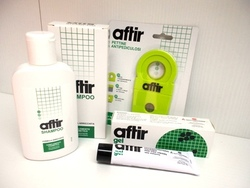 AFTIR KIT Shampoo + Gel + Pettine