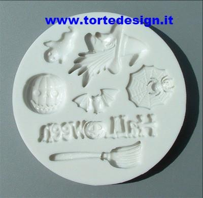 stampo silicone tema halloween (mould)