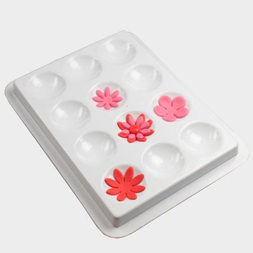 Vassoio con 12 cavità per asciugare fiori