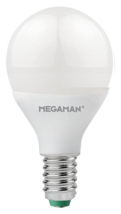 Lampada Megaman LED SFERA ENTRY E14 3,5W 250lm 2800K