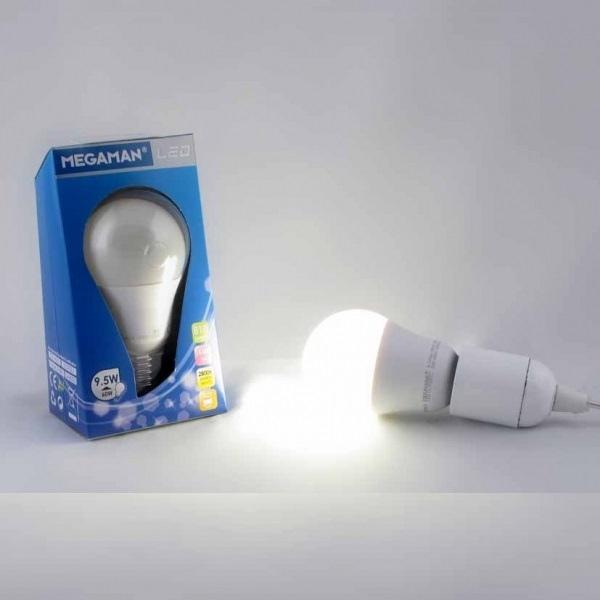 Lampada MEGAMAN LED STANDARD A65 ENTRY 15.000H OPALE 5W 400 lumen