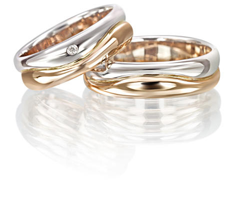Fede Van Gold in oro e diamante