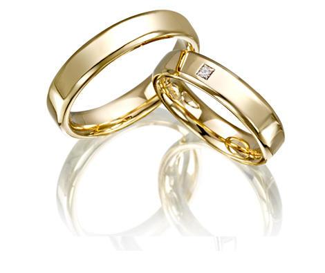 Fede Van Gold in oro Giallo