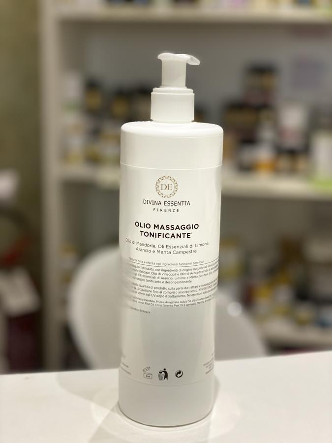Olio massaggio tonificante 500 ml