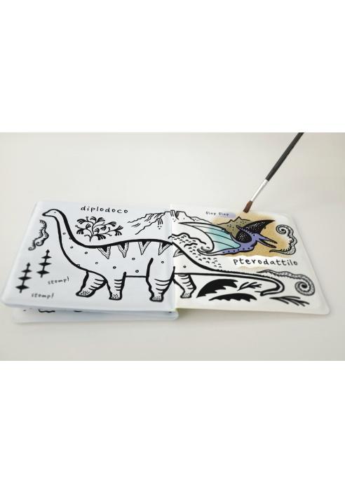 Colorami. Dinosauri nel bagnetto