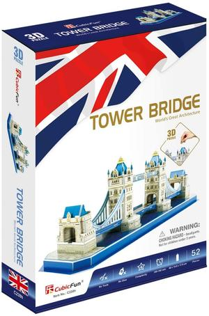 Puzzle 3D Tower Bridge - Cubic Fun C238H - 8+ anni