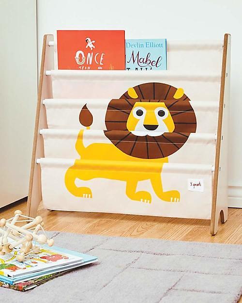 Libreria Frontale Montessoriana per Bambini - Leone Giallo