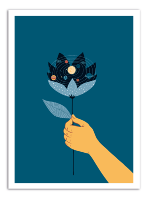 FLOWER - Universe Inside Art Print