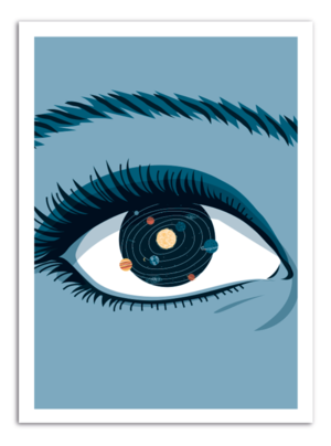EYE - Universe Inside Art Print
