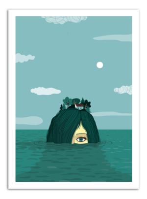 ISLAND - Something Hidden Art Print