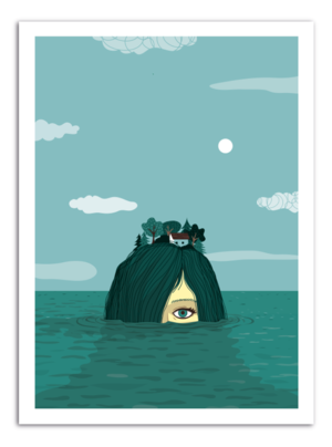 ISLAND - Something Hidden Art Print