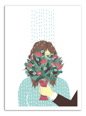 FLOWERS - Something Hidden Art Print