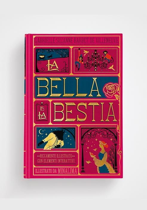 La bella e la bestia. Edizione illustrata da Minalima
