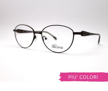 Montatura in metallo OcchialeAmico  OSH 10  - Lenti da vista incluse -