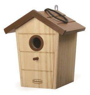Casetta in Legno Per Uccellini Nido Casa Da Esterno albero Giardino Uccelli Liberi