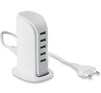 MULTI PORTA USB da 5 PRESE