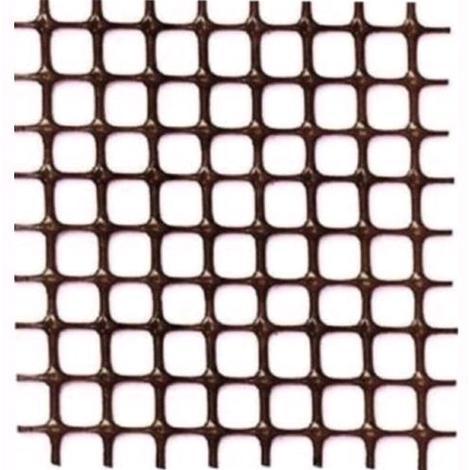 Rete in pvc marrone quadra papillon altezza 1 mt  - lunghezza 1 mt