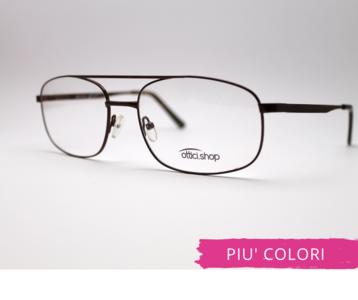 Montatura in metallo OcchialeAmico  OSH 19  - Lenti da vista incluse -