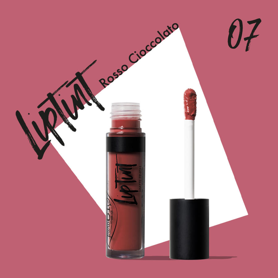 Purobio - Liptint n. 07 Rosso cioccolato