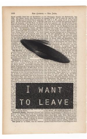 """Art On Words: """"I Want to Leave"""""""