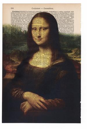 "Art On Words: Leonardo Da Vinci, ""La Gioconda"" (Monna Lisa)"